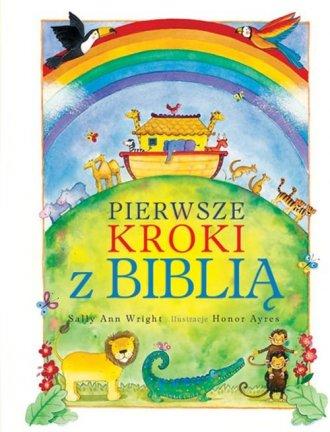 Pierwsze kroki z Biblią - okładka książki