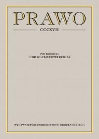Prawo CCCXVII - okładka książki
