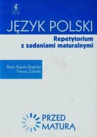 Przed maturą. Język polski. Repetytorium z zadaniami maturalnymi - okładka podręcznika