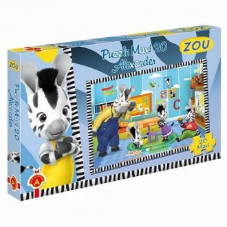 Zou (puzzle maxi 20-elem.) - zdjęcie zabawki, gry