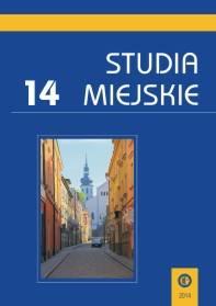 Studia Miejskie. Tom 14 - okładka książki
