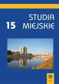 Studia Miejskie. Tom 15 - okładka książki