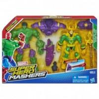 Super Hero Mashers. Hulk vs Loki - zdjęcie zabawki, gry