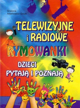 Telewizyjne i radiowe rymowanki. - okładka książki