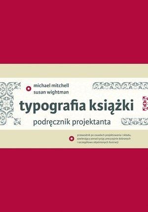 Typografia książki. Podręcznik - okładka książki