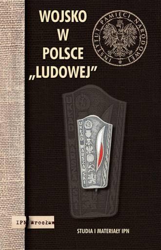 Wojsko w Polsce ludowej - okładka książki