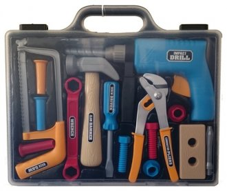 Zestaw narzędzi. Walizeczka - zdjęcie zabawki, gry