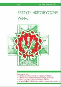 Zeszyty Historyczne WiN-u nr 40 (grudzień 2014) - okładka książki