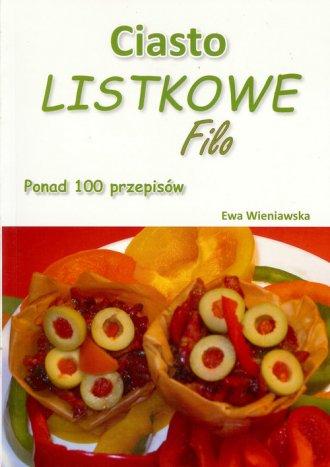 Ciasto listkowe Filo. Ponad 100 - okładka książki