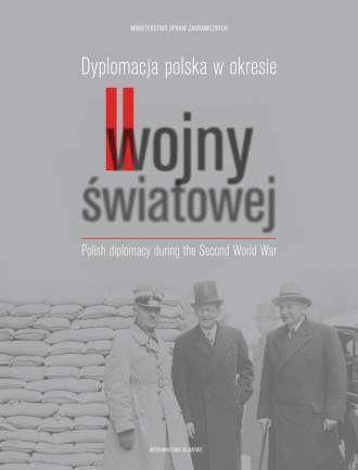 Dyplomacja polska w okresie II - okładka książki
