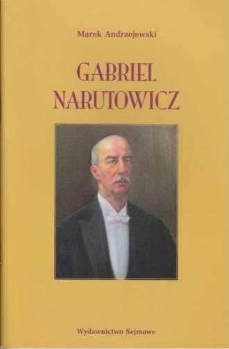 Gabriel Narutowicz. Seria: 90. - okładka książki