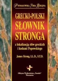 Grecko-polski słownik Stronga z - okładka książki