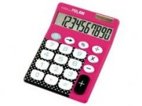 Kalkulator różowy, duże klawisze - zdjęcie produktu