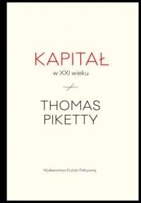 Kapitał w XXI wieku - okładka książki