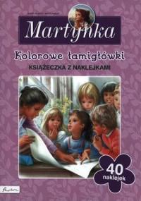 Martynka. Kolorowe łamigłówki - okładka książki