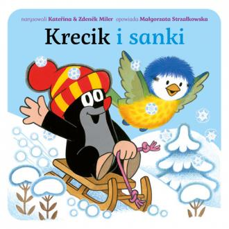 Krecik i sanki - okładka książki