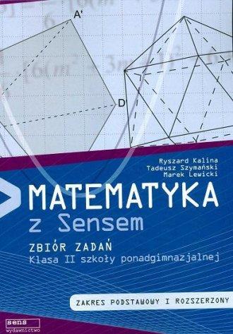 Matematyka z Sensem. Klasa 2. Szkoła - okładka podręcznika