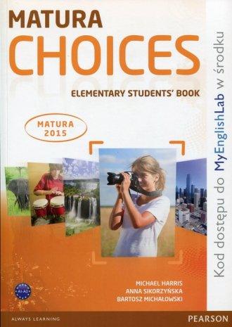 Matura Choices. Elementary Students - okładka podręcznika