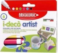 Mazaki i-deco artist (6 kol.) - zdjęcie produktu