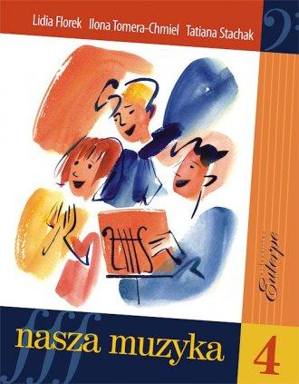 Nasza muzyka 4 - okładka podręcznika