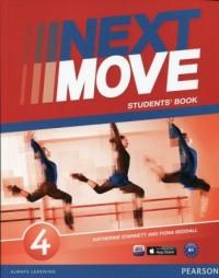 Next Move 4. Students Book - okładka podręcznika