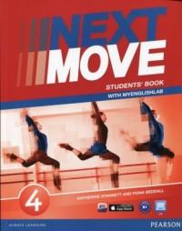 Next Move 4. Students Book with MyEnglishLab - okładka podręcznika