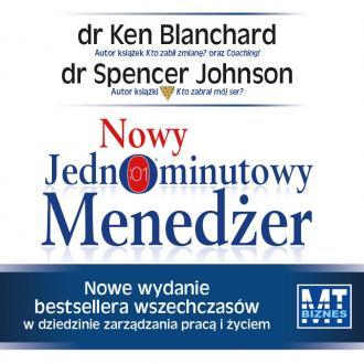 Nowy Jednominutowy Menedżer - pudełko audiobooku