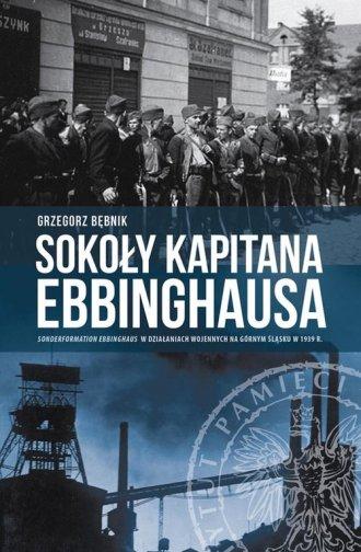 Sokoły kapitana Ebbinghausa. Sonderformation - okładka książki
