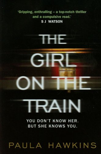 The Girl on the Train - okładka książki