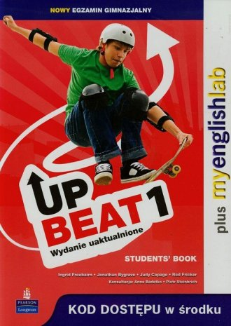Upbeat 1. Students Book. Gimnazjum - okładka podręcznika