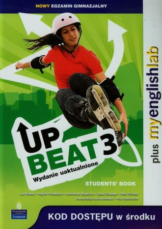 Upbeat 3. Students Book. Gimnazjum - okładka podręcznika