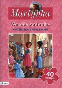 Martynka. Wesołe zadanka - okładka książki