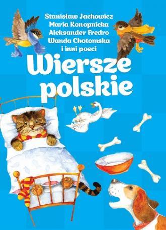 Wiersze polskie - okładka książki