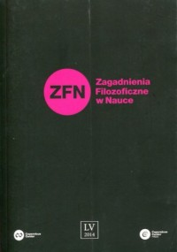 Zagadnienia Filozoficzne w Nauce - okładka książki
