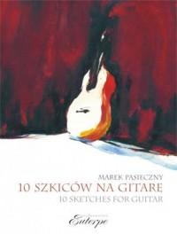 10 szkiców na gitarę solo - okładka podręcznika