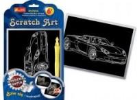 Auto. Scratch Art. Srebrna seria - zdjęcie zabawki, gry