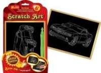 Auto. Scratch Art. Złota seria - zdjęcie zabawki, gry