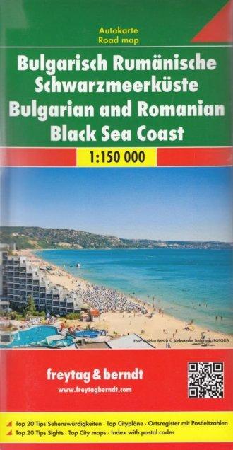 Bułgaria i Rumunia, Wybrzeże Morza - okładka książki