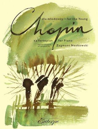Chopin dla młodzieży na fortepian - okładka podręcznika