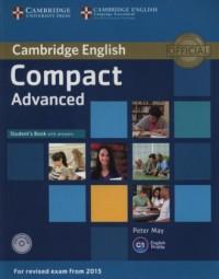 Compact Advanced. Students Book - okładka podręcznika