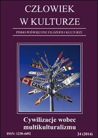 Człowiek w kulturze 242014. Cywilizacje wobec multikulturalizmu - okładka książki