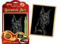 Dog angielski. Scratch Art. Złota - zdjęcie zabawki, gry