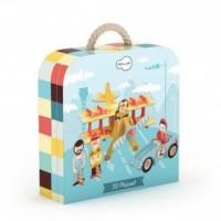 Drużyna wyścigowa (puzzle 3D) - zdjęcie zabawki, gry