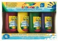 Farby do malowania palcami (4 szt.) - zdjęcie produktu