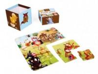 Farma (puzzle 16-elem.) - zdjęcie zabawki, gry