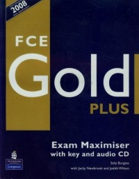 FCE Gold Plus. Exam maximiser with key (+ CD) - okładka podręcznika