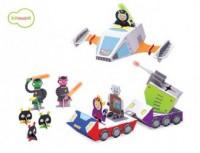 Galaktyczna policja (puzzle 3D) - zdjęcie zabawki, gry