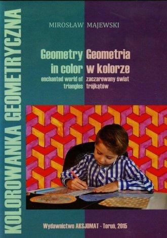 Geometria w kolorze zaczarowany - okładka książki