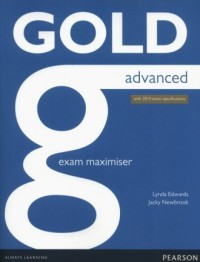 Gold Advanced. Exam Maximiser - okładka podręcznika
