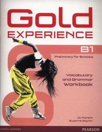 Gold Experience B1. Vocabulary - okładka podręcznika